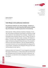 Volle Ränge an der publisuisse mediavision [PDF]