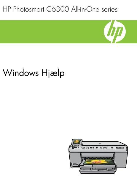 HP Photosmart C6300 All-in-One series - Hewlett Packard
