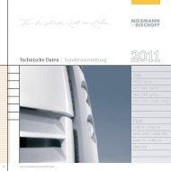 Preisliste Serie 2011 - Niesmann + Bischoff