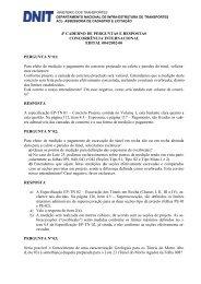 4º Caderno de Perguntas e Respostas - DNIT
