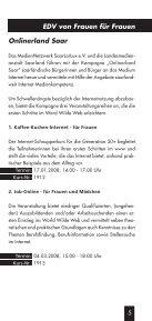 Frauenbildungsprogramm Wintersemester 2007/2008 - Seite 5