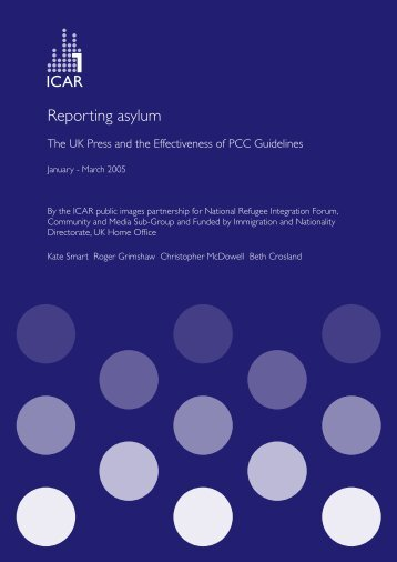REPORTING ASYLUM - ICAR