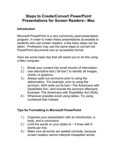 Presentation Handout Template Word from img.yumpu.com