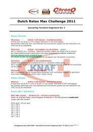 Dutch Rotax Max Challenge 2011