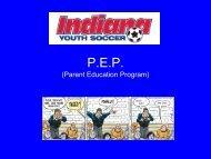 Parent Seminar - Indiana Soccer