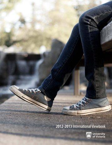 2012-2013International Viewbook - University of Victoria