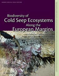 Cold Seep Ecosystems European Margins - Station Biologique de ...
