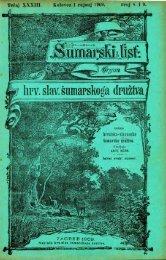 ÅUMARSKI LIST 8-9/1909