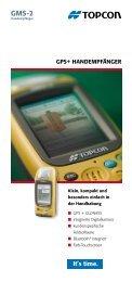 GPS+ HandemPfänGer - Topcon Positioning