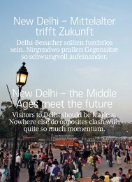 New Delhi – Mittelalter trifft Zukunft New Delhi – the Middle ... - Swiss
