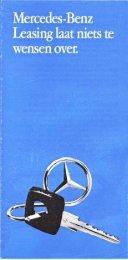Mercedes -Benz Leasing
