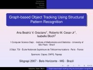Graph-based Object Tracking Using Structural Pattern Recognition