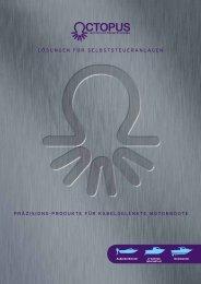 Präzisions-Produkte für kabelgelenkte Motorboote ... - Octopus Europe