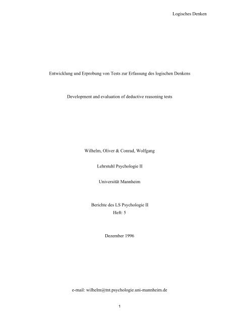 download pdf - Psychologie - Universität Mannheim