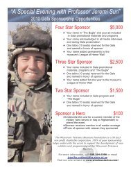 Gala Sponsor Flyer.qxp - Wisconsin Veterans Museum Foundation