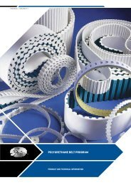 METRIc TIMIng BELTS - Brd. Klee A/S