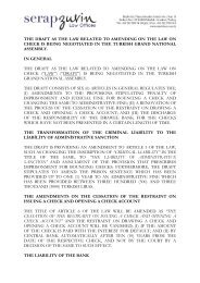 the draft as the law related to amending on the law on check is being ...