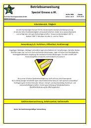 Special Grase ow BA.xlsx - Profi-Star Wartungsprodukte GmbH