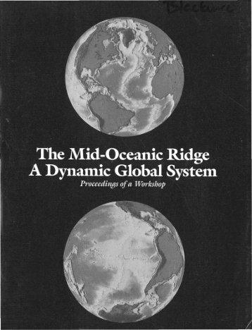 Workshop Report - Ridge 2000 Program