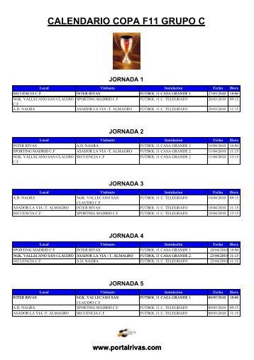 PARTIDOS DE COPA F11 - PortalRivas.com
