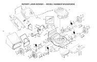 rotary lawn mower - - model number w425qf20ra - Klippo