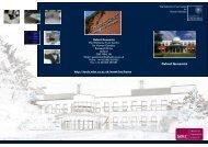 Brochure 1.pdf - Wellcome Trust Centre for Human Genetics