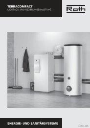 Technische Daten - Roth Werke