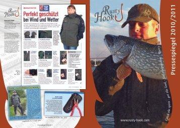 Pressespiegel 2010/2011 - Rusty Hook