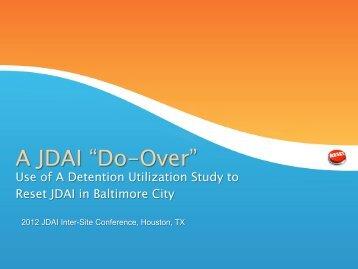 Baltimore City - JDAI Helpdesk