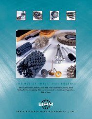 Click for PDF - Brush Research Manufacturing