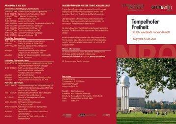 PDF, 534 KB Programmflyer 8. Mai 2011 - Tempelhofer Freiheit