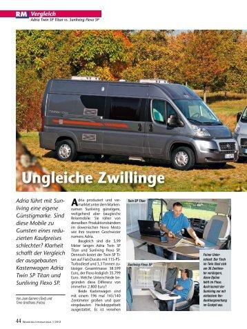 Adria - Reisemobil Interaktiv