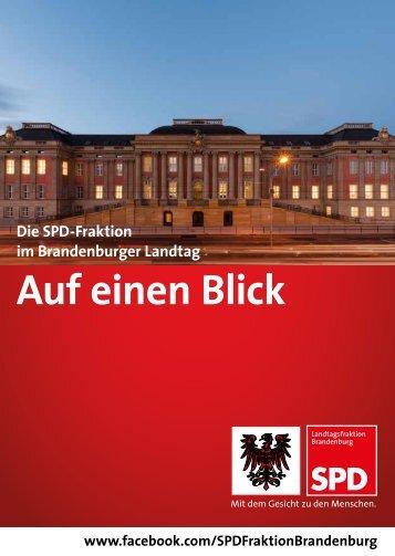 Auf einen Blick - SPD-Landtagsfraktion Brandenburg