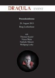 Pressekonferenz 20. August 2013 Burg ... - Kultur Burgenland