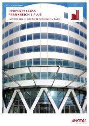 KGAL PropertyClass Frankreich 1 Plus Prospekt