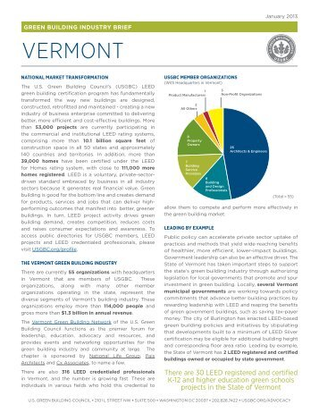 Vermont - US Green Building Council