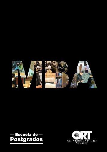 Un MBA a tu medida - Universidad ORT Uruguay