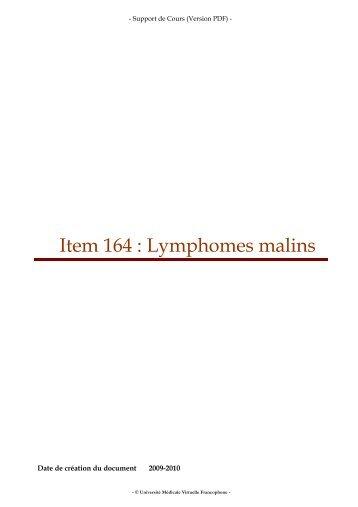 lymphomes malins non hodgkiniens pdf