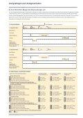 Analysebogen zum Anlageverhalten - Seite 2