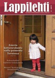 Lappilehti 2/2011 - Suomen Vapaakirkko