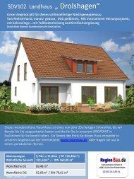 """SDV102 Landhaus """" Drolshagen"""""""