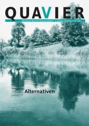 Alternativen.pdf - quavier.ch