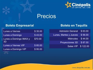 Cinépolis VIP - Sntimp.org.mx