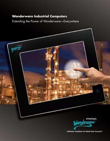 Wonderware Industrial Computers Extending the Power of ...