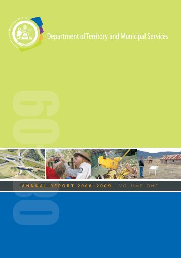 Full report - Territory and Municipal Services - ACT Government