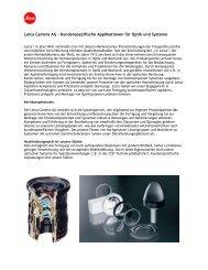 Leica Camera AG – Kundenspezifische Applikationen für Optik und ...