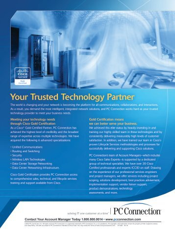Your Trusted Technology Partner - GovConnection