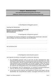 """Anlage 8.1. """"Mustersperrauftrag"""" - Energieversorgung Nordhausen ..."""