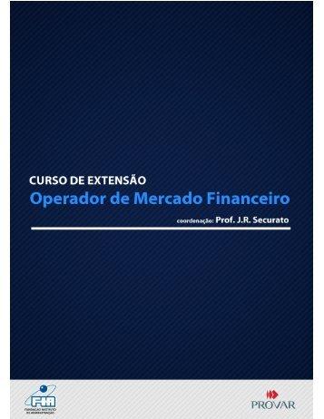 Operador de Mercado Financeiro