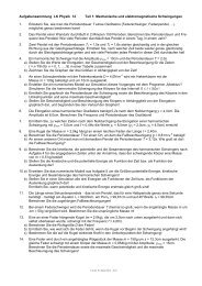 Aufgabensammlung 12 - Familie Harzer aus Niesky